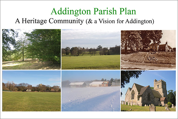 Addington Parish Plan 2013
