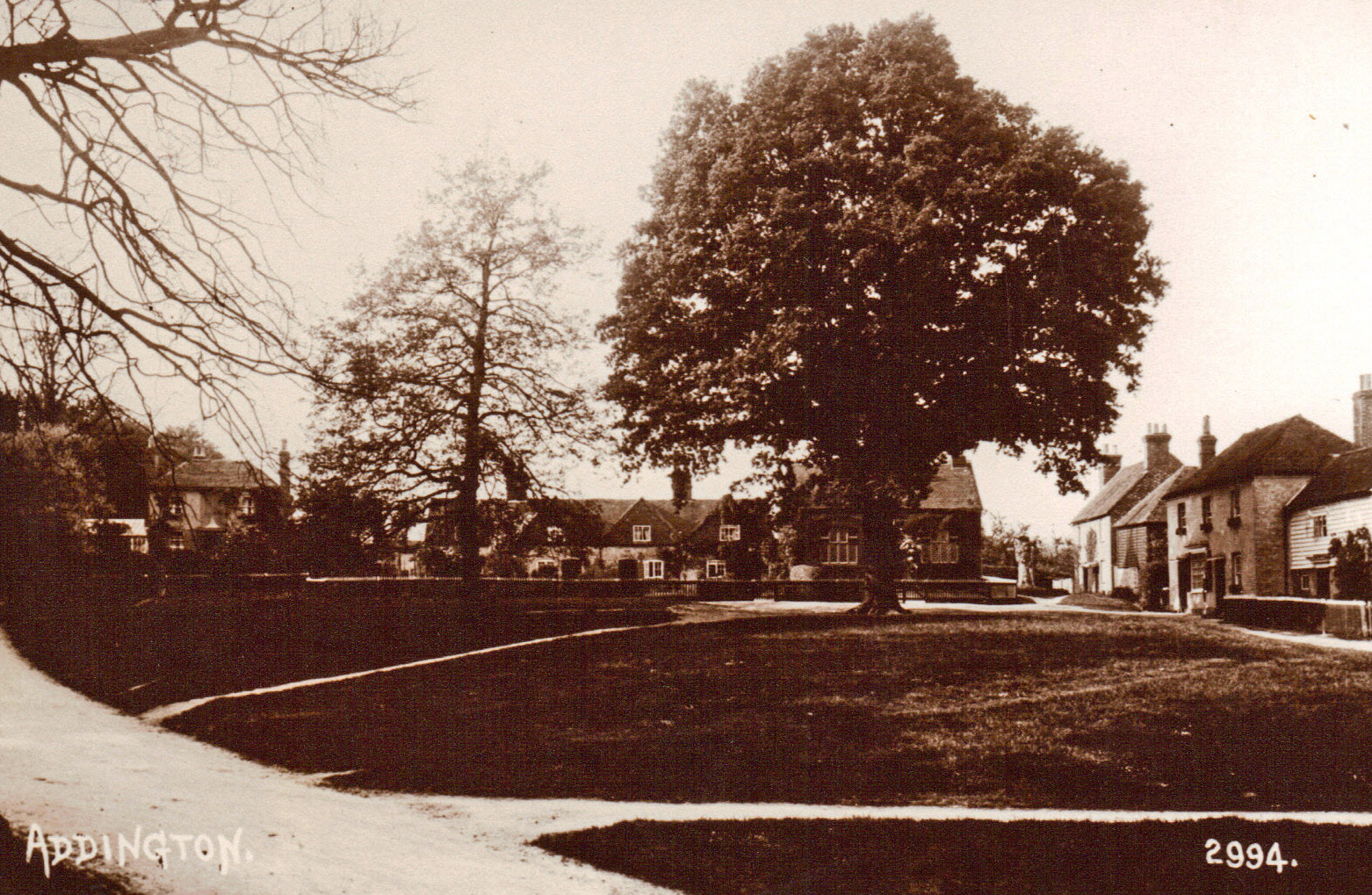 Addington Green with Park Cottage 1930s