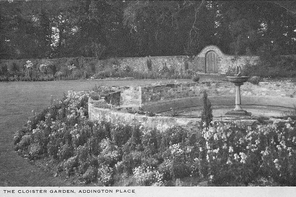 The Cloister Garden Addington Place 1933