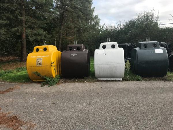Addington Recycling bins