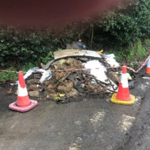 Recent fly-tipping on the corner of East Street North and Woodgate Road